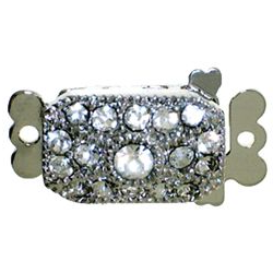 Single Strand Rhinestone Clasp