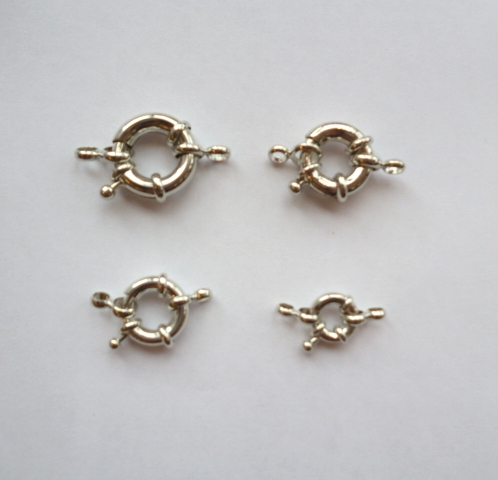 Spring-Wheel (Bolt-Ring) clasps