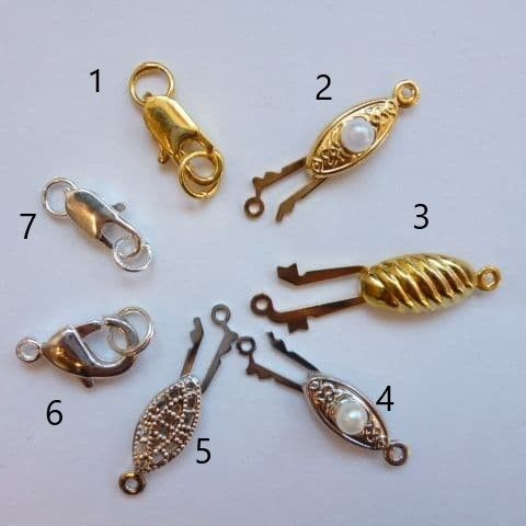 Sturdy and Practical Clasps at a Great Price!